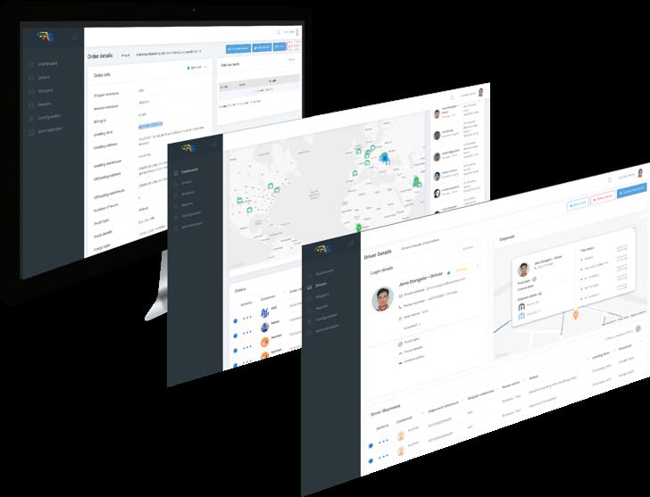 LoadMe App pages